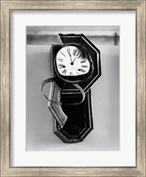 Clock from Nagasaki, stopped at 11:02 AM, August 9, 1945 at the moment of the Atomic Bomb explosion,  Nagasaki, Japan Fine Art Print