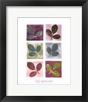 Leaf Impressions Fine Art Print
