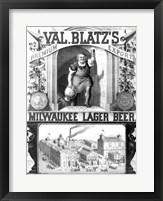 Val Blatt's Lager Beer Fine Art Print
