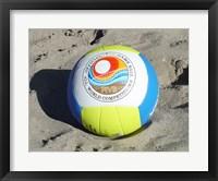 Beach Volleyball Ball Fine Art Print