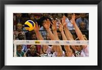 Volleyball Block Fine Art Print