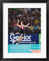 Volleyball Jump Serve Fine Art Print