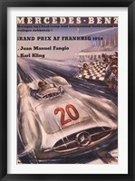 Mercedes Benz 1954 Grand Prix Fine Art Print