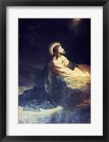 Christ in the Garden of Gethsemane Heinrich Hoffmann (1824-1911 German) Fine Art Print