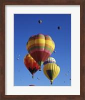Hot air balloons at the Albuquerque International Balloon Fiesta, Albuquerque, New Mexico, USA Launch Fine Art Print