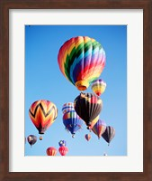 Cluster of Hot Air Balloons Fine Art Print