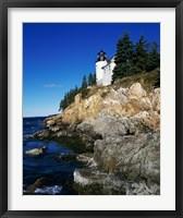 Bass Harbor Head Lighthouse Mount Desert Island Maine USA Fine Art Print