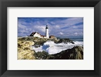 Portland Head Lighthouse, Cape Elizabeth, Maine, USA Fine Art Print