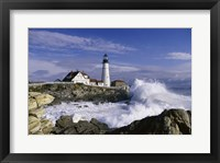Portland Head Lighthouse Cape Elizabeth Maine  USA Fine Art Print