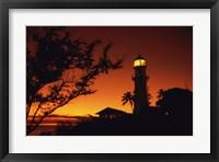 Diamond Head Lighthouse Oahu Hawaii USA Fine Art Print