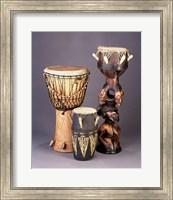 West African Drums Fine Art Print