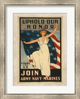 Uphold Our Honor Fine Art Print