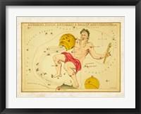 Aquarius, Pices Australis & Ballon Aerostatique Constellation Fine Art Print