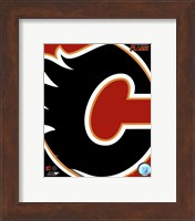 Calgary Flames 2011 Team Logo Fine Art Print