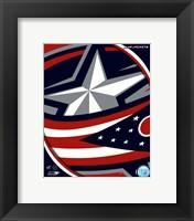Columbus Blue Jackets 2011 Team Logo Fine Art Print
