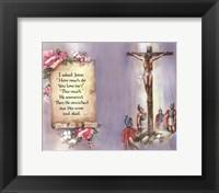 I Asked Jesus (quote) Fine Art Print