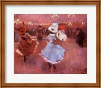 Jean-Louis Forain Can-Can Dancers Fine Art Print
