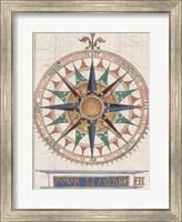 Guillaume Brouscon Compass France, 1543 Fine Art Print
