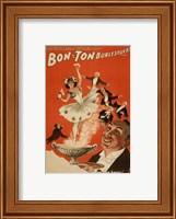 Bon-Ton Burlesquers With Server Fine Art Print