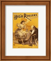 Dining a High Roller Girl After the Show Fine Art Print