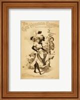 The Gay Morning Glories Vaudevillers & Burlesquers Fine Art Print