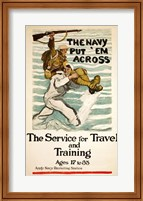 Navy Recruitment Poster Fine Art Print