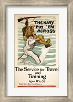 Navy Recruitment Poster Fine Art Print