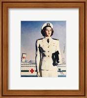 Navy Nurse Fine Art Print