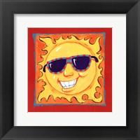 Smiley Sun Fine Art Print