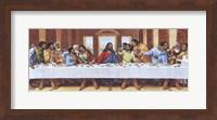 Black Last Supper Fine Art Print