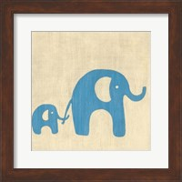 Best Friends- Elephants Fine Art Print