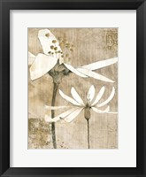Pencil Floral II Fine Art Print