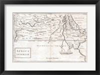 1730 Toms Map of Central Africa Fine Art Print