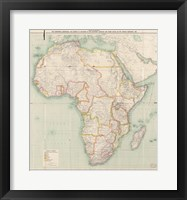 Africa 1909, Edward Hertslet Fine Art Print