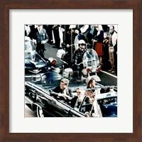 JFK Motorcade Dallas, TX Fine Art Print