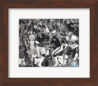 Marcus Allen & Jim Plunkett Super Bowl XVIII Action Fine Art Print
