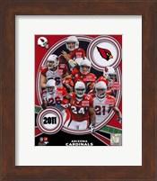 Arizona Cardinals 2011 Team Composite Fine Art Print