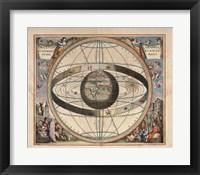 Cellarius Ptolemaic System Fine Art Print