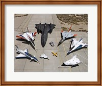 Collection of Military Aircraft Fine Art Print