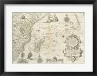 East Africa and the Indian Ocean 1596, Arnold Florent van Langren Fine Art Print