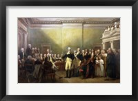 General George Washington Resigning His Commission Fine Art Print