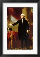 Gilbert Stuart, George Washington Lansdowne Portrait, 1796 Fine Art Print