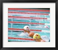 US Swimmer Susan Rapp Fine Art Print