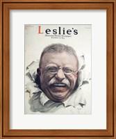 Leslies Illustrated Weekly Newspaper Nov. 1916 Teddy Roosevelt Fine Art Print