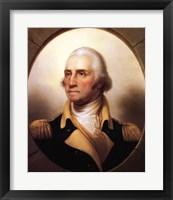 Portrait of George Washington Fine Art Print