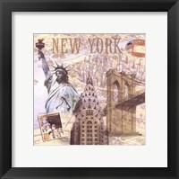 Travel Scrapbook III Fine Art Print