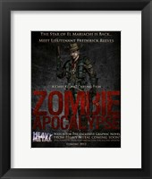 Zombie Apocalypse Wall Poster