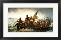 Washington Crossing the Delaware by Emanuel Leutze, MMA-NYC, 1851 Fine Art Print