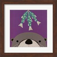 Peek-a-Boo Otter Fine Art Print
