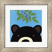 Peek-a-Boo Bear Fine Art Print